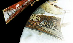 Collectible Handcrafted Guns Flintlock Pistols Muskets